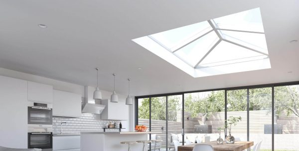 korniche aluminium roof lantern skylight kitchen sliding patio door
